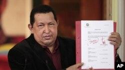 """La nacionalización de firmas privadas ha sido un recurso político """"populista"""" de primera mano para el presidente Hugo Chávez."""
