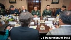 美国国务院官员会见范长龙一行(图片来源:美国国务院)