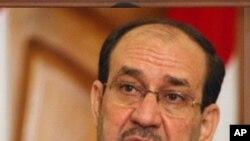 백악관을 방문하는 말리키 이라크 총리(자료사진)