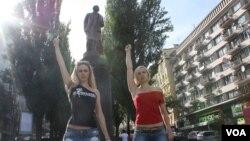 Александра Шевченко и Яна Жданова