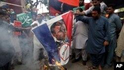 په پاکستان کې د فرانسې ضد مظاهرې