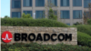 Stock Photo: A sign in front of the campus offices of chipmaker Broadcom Ltd in Irvine, California, United States, November 6, 2017. REUTERS / Mike Blake
