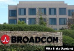 ساختمان مرکزی شرکت «برادکام» در «ایرواین» کالیفرنیا - (عکس نوامبر 2017 از رویتر)