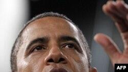 Tổng thống Obama nói chuyện tại công ty Johnson Controls Inc. ở thành phố Holland, bang Michigan