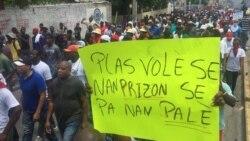 Manifestations contre Jovenel Moïse en Haïti