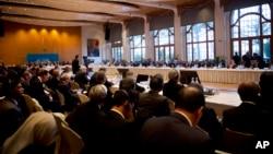 Delegati na sirijskoj mirovnoj konferenciji