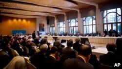 Международная мирная конференция по Сирии. Швейцария, Монтре, 22 января 2014г.