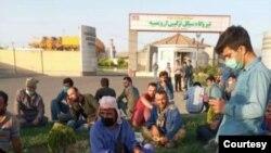 Urmiyə Kombinə tsiklli elektrik stansiyasının muzdlu işçiləri tətil keçirir