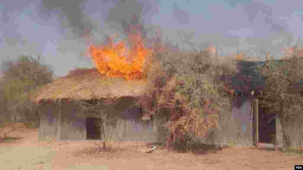 Sojojin Operation Lafiya Dole sun kone sansanin 'yan Boko Haram a dajin Sambisa