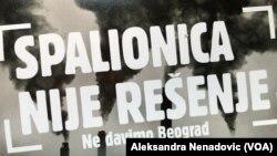 Spalionica otpada na deponiji u Vinči predstavlja veliki rizik za životnu okolinu i zdravlje upozorili su aktivisti inicijative Ne davimo Beograd