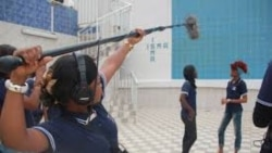 Reportage de Ginette Fleure Adandé sur le cinéma au Bénin