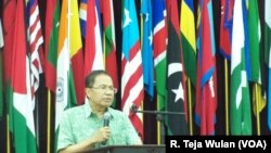 "Rizal Ramli dalam Forum ""Indonesia Youth Speak Summit 2016,"" Gedung Merdeka, Bandung"