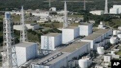 12일 폭발이 일어난 가운데 방사선 물질이 유출된 일본 후쿠시마 제1원전 1호기(자료사진)
