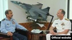 ایڈمرل گرینرٹ نے پاکستانی فضائیہ کے سربراہ سےبھی ملاقات کی