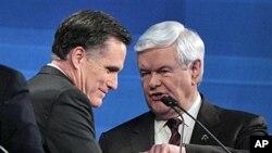 Romney e Gingricht