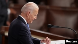 Predsjednik Joe Biden u obraćanju Kongresu