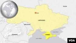 Peta wilayah Ukraina