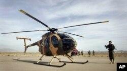طیارۀ MD-530 که در اختیار سربازان افغان قرار گرفته نیز برای جنگ طراحی نشده است