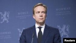 Borge Brende, ministro norueguês dos Negócios Estrangeiros