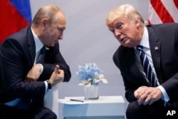 Володимир Путін і Дональд Трамп за лаштунками саміту G20
