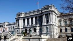미국 의회 조사국(CRS)이 소속된 미국 의회 도서관 건물. (자료사진)