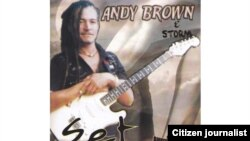 The late Andy Brown.