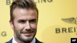David Beckham (Foto: dok. AP Photo/Abraham Caro Marin)
