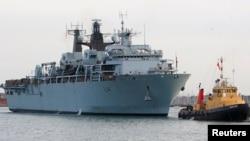 Tàu HMS Albion.
