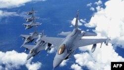 Истребители Ф-16 производства концерна Lockheed Martin