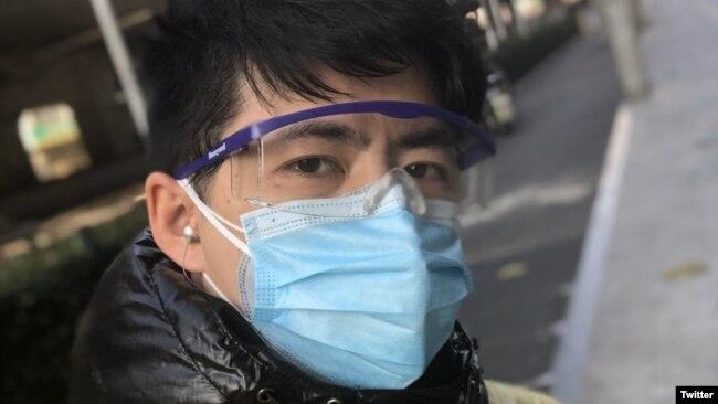被失踪的中国公民记者陈秋实