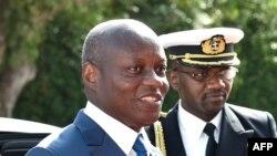Le président José Mario Vaz de la Guinée-Bissau, 2 mai 2017.