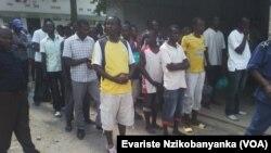 Abarekuwe i Bujumbura