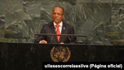 Ulisses Correia e Silva, primeiro-ministro de Cabo Verde. procurou soluções para lidar com a seca.