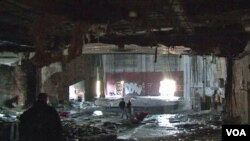 Teater Eastown di Detroit yang sudah lapuk. (Foto: Dok)