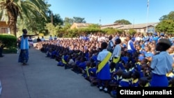 Zimbabwe School Children