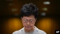 香港特首林鄭月娥 (2019年11月26日)