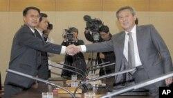 兩韓代表討論在漢拿山進行聯合科學調查