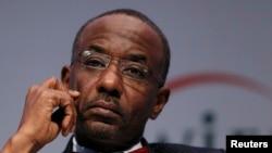 Le gouverneur de la banque centrale nigériane, Sanusi Lamido, lors du Forum islamique économique à Londre, le 30 octobre 2013