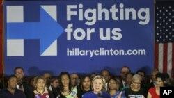 Kampanye Hillary Clinton di Chicago, Ill.