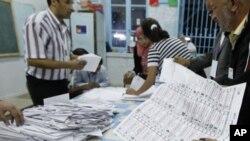 تیونس: پہلے جمہوری انتخابات کے بعد ووٹوں کی گنتی جاری