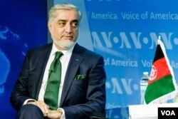 Abdullah Abdullah, Chief Executive of the Islamic Republic of Afghanistan.