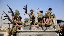 胡塞反政府武装攻占也门首都萨那。