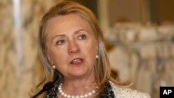 U.S. Secretary of State Hillary Rodham Clinton (file)