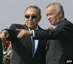 Nazarboyev va Karimov