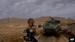 작전중인 아프간 주둔 나토군