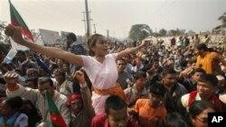 کرپشن کےخلاف بھارتی کاشتکاروں کا احتجاجی مظاہرہ (فائل فوٹو)