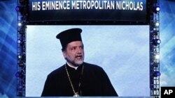 O Μητροπολίτης Ντητρόιτ Νικόλαος στο Συνέδριο των Δημοκρατικών