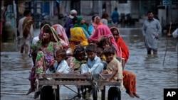 سندھ میں تباہ کن سیلاب کے اعداد وشمار
