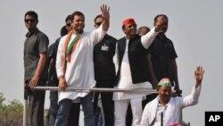 Državni funkcioneri Utar Pradeša posle izbornih rezultata u toj indijskoj državi