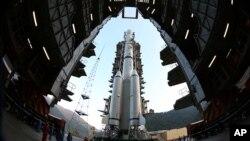 سفینه کاوشگر ماه روز اول دسامبر در مرکز فضایی سی چانگ آماده پرتاب شد